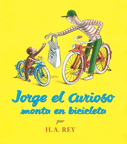 9780618196777: Jorge el Curioso Monta en Bicicleta (Curious George)