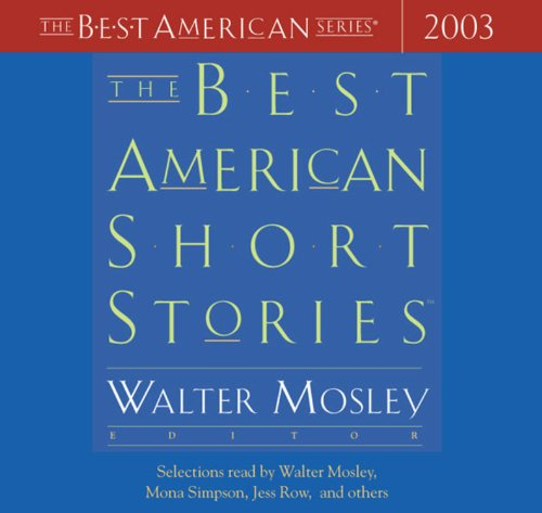 9780618197521: The Best American Short Stories 2003