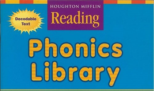 9780618198221: Houghton Mifflin Reading: The Nation's Choice: Phonics Library Take Home (Set of 5) Grade K Fan