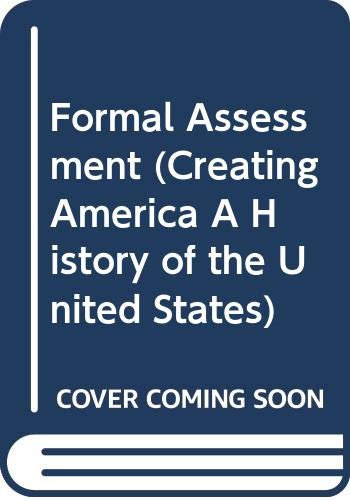 9780618198825: Formal Assessment (Creating America A History of the United States)