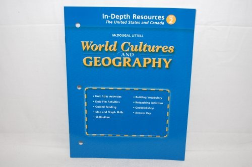 9780618199013: World Cultures and Geography In-depth resources The United States and Canada Unit 2