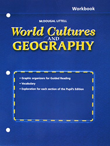 9780618199211: World Cultures & Geography, Grades 6-8 Workbook: Mcdougal Littell World Cultures & Geography