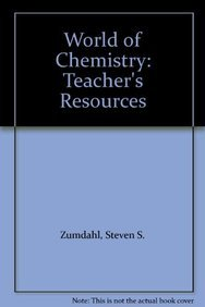 9780618200672: World of Chemistry: Teacher's Resources