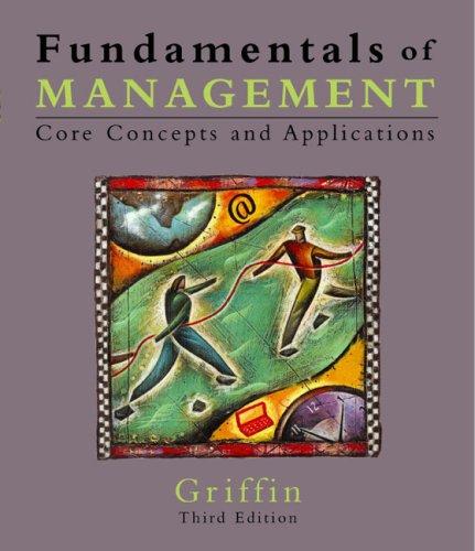 9780618203390: Fundamentals Of Management, Third Edition