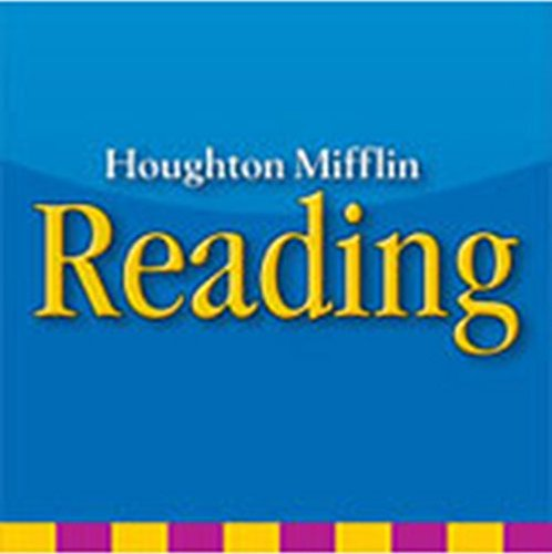 9780618205288: Houghton Mifflin Reading: The Nation's Choice: Alphafriends Song Audio CD Grade K