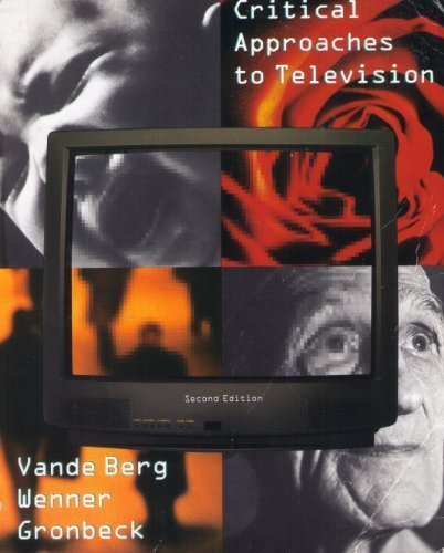 9780618206742: Critical Approaches to Television