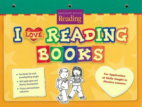 9780618211487: Houghton Mifflin Reading: The Nation's Choice California: I Love Reading Take Home (set of 5) Unit 2 Grade 2 Sisters and Brothers
