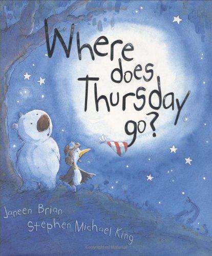 9780618212644: Where Does Thursday Go?