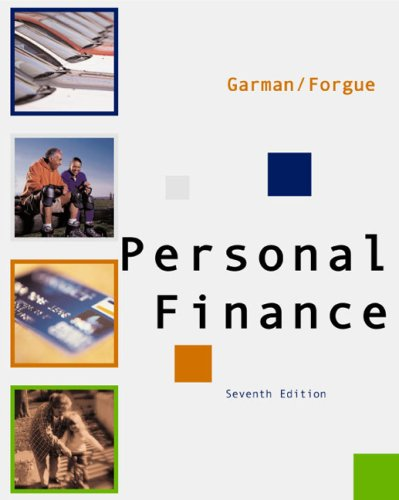 9780618214174: Personal Finance, Seventh Edition