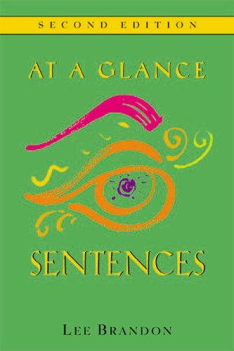 9780618214273: At A Glance: Sentences Second Edition