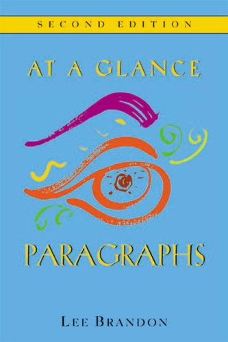 9780618214280: At A Glance: Paragraphs Second Edition