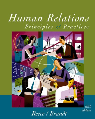 9780618214358: Human Relations Brief Fifth Edition