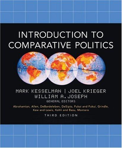 Introduction to Comparative Politics: Mark Kesselman, Joel