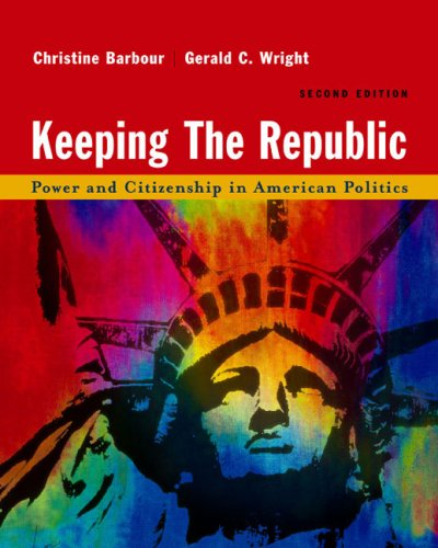 9780618214518: Keeping The Republic Second Edition