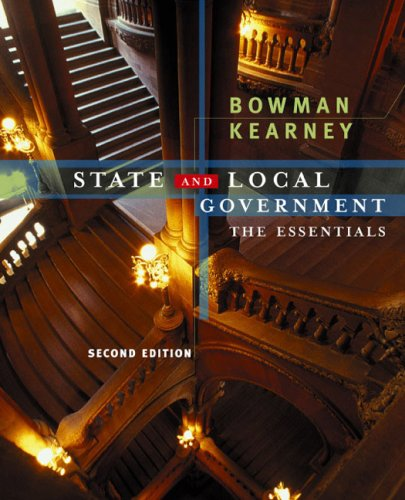 9780618214594: American State And Local Government Essentials, Second Edition