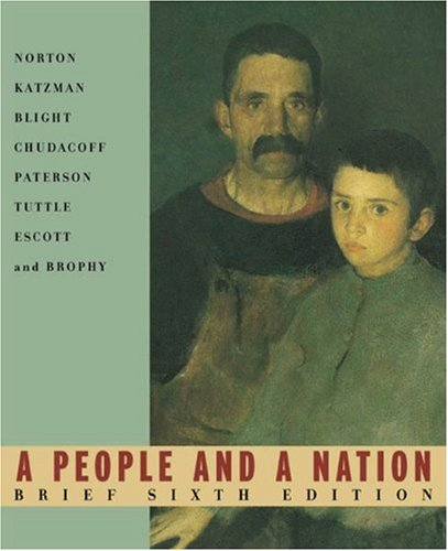 A People and a Nation: Complete Student: Norton, Mary Beth;
