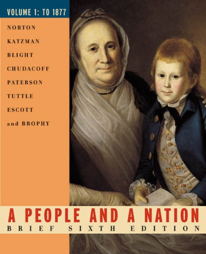 9780618214693: A People And A Nation, Volume 1 Brief, Sixth Edition