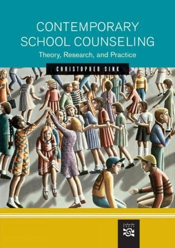 9780618215065: Contemporary School Counseling: Theory, Research, and Practice