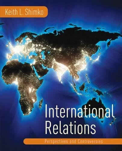 9780618215485: International Relations: Perspectives and Controversies