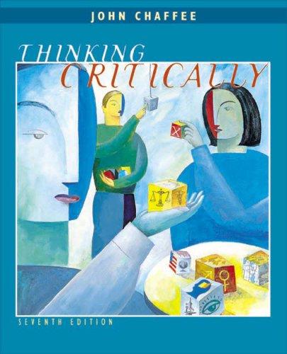 thinking critically by john chaffee
