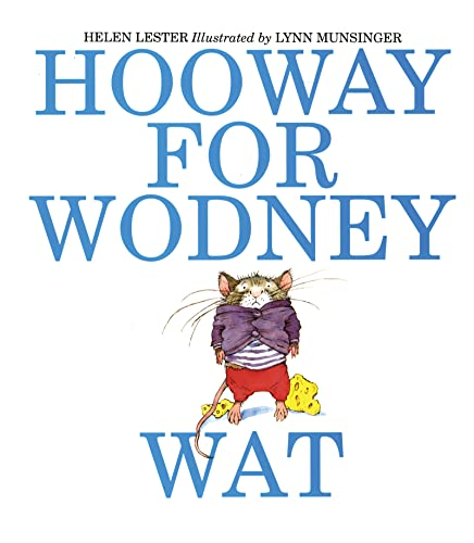 9780618216123: Hooway for Wodney Wat