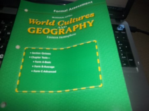 9780618217090: McDougal Littell World Cultures and Geography Formal Assessment. (Paperback)