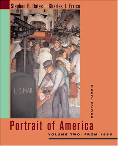 9780618220243: Portrait of America: Volume Two: From 1865
