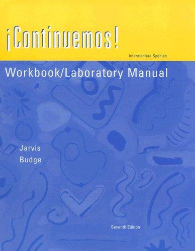 9780618220717: Workbook/Laboratory Manual to accompany Continuemos