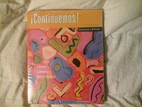 9780618220724: Continuemos - Intermediate Spanish Teacher's Edition (Spanish Edition)
