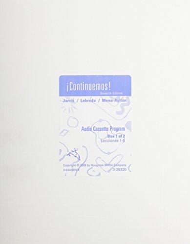 9780618220786: Continuemos!, Lecciones 1-5 (Spanish Edition)
