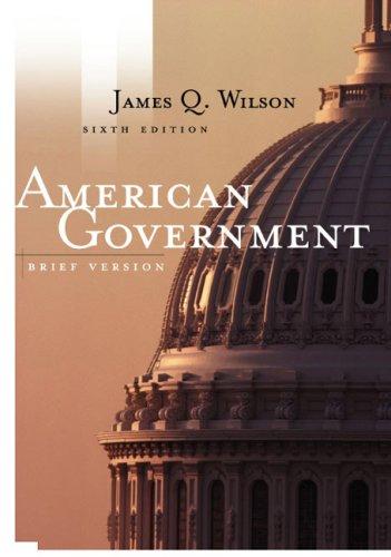 9780618221455: American Government