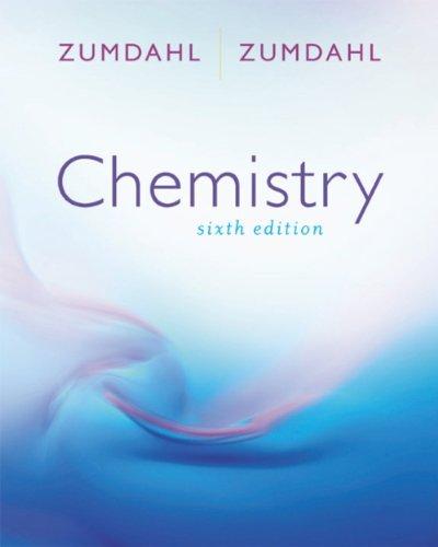Interactive Course Guide for Zumdahl/Zumdahl's Chemistry, 6th: Zumdahl, Susan A., Zumdahl...