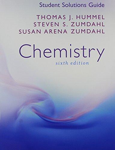 student solutions manual chemistry by zumdahl houghton mifflin rh abebooks com zumdahl chemistry 9th edition solutions manual pdf zumdahl chemistry 6th edition solutions manual pdf