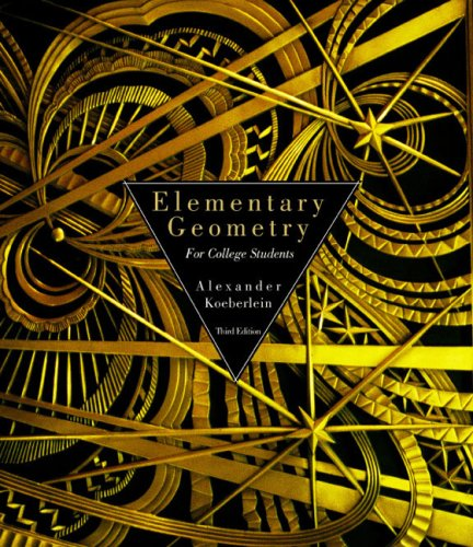 9780618221769: Elementary Geometry For College Students Third Edition