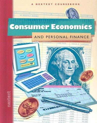 9780618222056: Nextext Coursebooks: Student Text Consumer Economics and Personal Finance