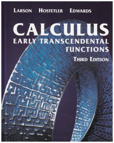 9780618223077: Calculus: Early Transcendental Functions