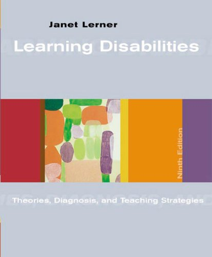 9780618224050: Learning Disabilities: Theories Diagnosis and Teaching Strategies