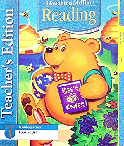 9780618224456: Houghton Mifflin Reading, Teacher's Edition, Level K, Theme 1- look at us!