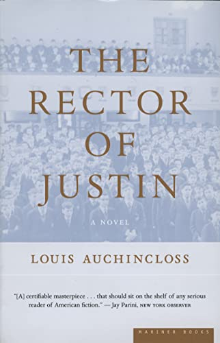 9780618224890: The Rector of Justin: A Novel