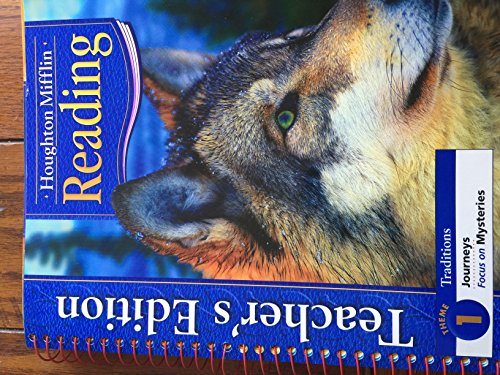 9780618225286: Houghton Mifflin Reading Traditions Theme 1 Journeys (Focus on Mysteries) Teacher's Edition
