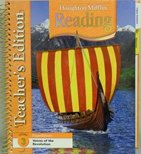 Houghton Mifflin Reading Techer's Ed. Grade 5: J. DAVID COOPER,