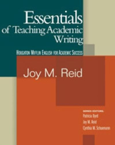 9780618230136: Essentials of Teaching Academic Writing (Essentials of Teaching Academic English)
