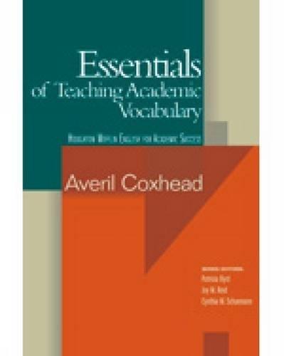 9780618230143: Essentials of Teaching Academic Vocabulary