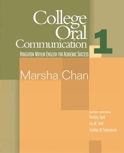 9780618230167: College Oral Communication 1: English for Academic Success (Bk. 1)