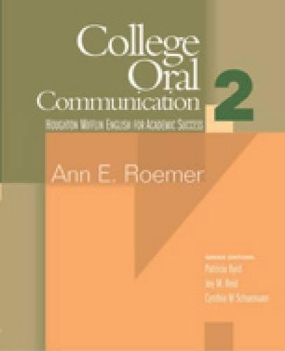 9780618230174: College Oral Communication 2 (English for Academic Success) (Bk. 2)