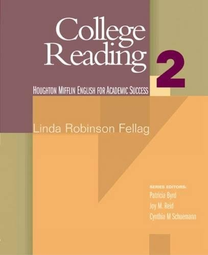 9780618230211: College Reading 2