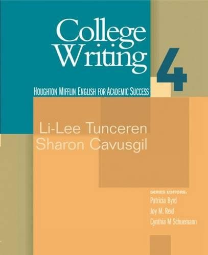 9780618230310: College Writing 4: English for Academic Success (Bk. 4)
