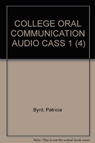 9780618230334: College Oral Communication 1: Audio Tapes