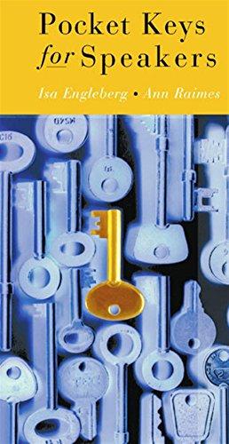 9780618230464: Pocket Keys for Speakers