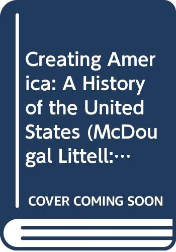 9780618233472: Creating America: A History of the United States (McDougal Littell: Test Generator (Version 3.0))